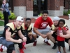 Waukee Chamber with the Iowa Barnstormers at Peoples Trust and Savings Bank on May 26.