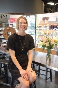 April King, director for the Aveda Institute in West Des Moines, says the company ha developed programs and committees to engage employees' personal interests such as volunteer paid time off.