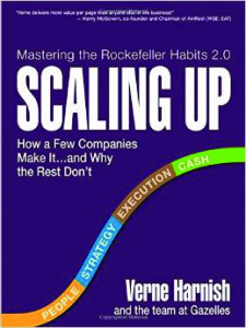 """Scaling Up"" by Verne Harnish 256 pages Oct. 21, 2014"