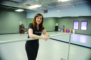 Sabetha Mumm received her first small business loan in 2003 to start a dance studio, Dance Vision in Johnston. Her business has grown so much, she recently applied for and received a second small business loan to construct her own dance studio.