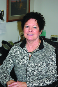 Diane Harmening of City State Bank in Grimes.