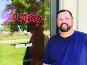 Kevin Goering, the third-generation owner of Goering Plumbing, Heating, Cooling & Remodeling.